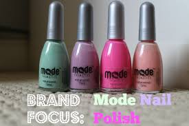 brand focus u2013 mode nail polishes all that shines