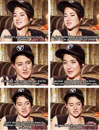 The Fault In Our Stars Meme - shailene woodley talks about the fault in our stars the fault in