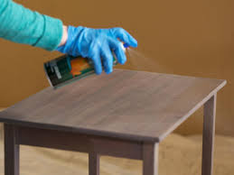 How To Build A Cheap End Table by How To Strip Sand And Stain Wood Furniture How Tos Diy