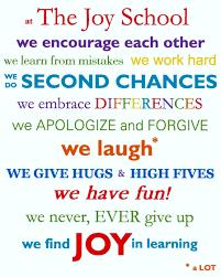 our values the joy