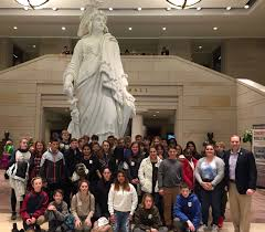 Rep Rep Zeldin Meets In Capitol With 8th Graders From Montauk Public