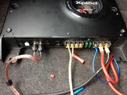 dd 8 inch sub sony xlode 800w amp ford mustang forum