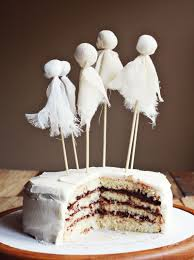 Halloween Cakes Easy To Make by Ghostly Party Cake Tips For Layered Cakes U2013 A Beautiful Mess