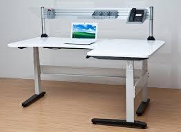 L Shaped Adjustable Height Desk Adjustable Height L Shaped Deskherpowerhustle Com Herpowerhustle Com