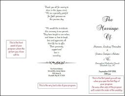 Reception Samples Reception Printed Text Best 25 Wedding Program Samples Ideas On Pinterest Reception