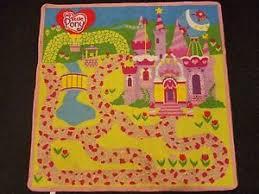candyland castle my pony mlp candyland castle play mat rug 40 x40 ebay