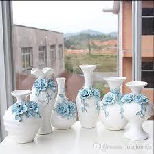 Wood Vases For Sale Modern Lucky Shape With Wood Frame Ceramic Vase For Home Decor