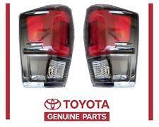 2016 toyota tacoma tail light genuine toyota tacoma 2017 trd pro left right rear tail lights oem