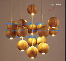 Wooden Chandelier Modern Beautiful Solid Wood Chandelier Modern Japanese Nordic