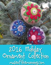new pattern 2016 ornament collection muse of the