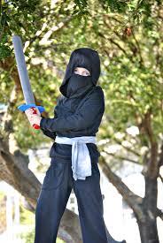 sewing pattern ninja costume ninja costume dandelion drift