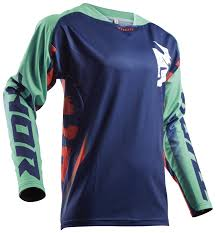 thor motocross jersey thor fuse rampant jersey cycle gear