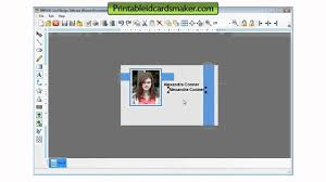 identity card making software free download home design