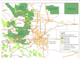 Map Of Colorado State by Linking Environmental Restoration And Stewardship In Colorado