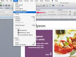 microsoft word publishing layout view how to remove pages from a newsletter template in word techwalla com
