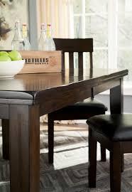 signature design by ashley haddigan 6 piece rectangular dining