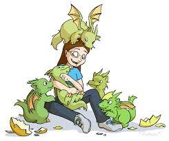 dragons for children commission children by chaoskomori on deviantart