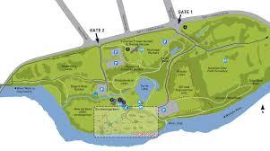 Rose Garden Layout by Hamilton Gardens Hamilton Gardens Map
