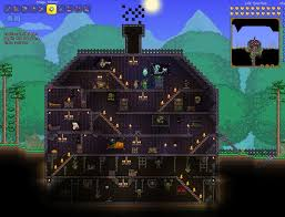 Halloween Event Terraria Mobile by Terraria Halloween House By Lunabell8707 On Deviantart