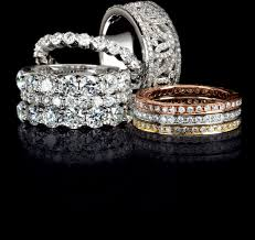 stackable diamond rings stackable diamond band jewelry store san diego custom