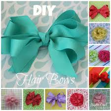 how to make hair bows 10 diy hair bow tutorials for pretty designs