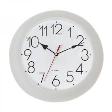 Horloge Murale Ronde Blanche Avec Horloge Murale Blanche Horloge Murale Blanche Horloge Murale