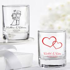 wedding favors personalized personalized glass wedding favors 27 designs