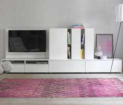 Wall Unit Contemporary Tv Wall Unit Wooden Lacquered Wood By Werner