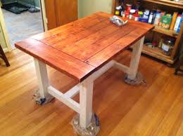 diy kitchen table plans home and interior