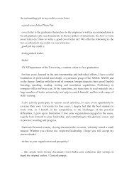 The Best Cover Letter For A Resume by Excellent Cover Letter