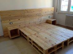 Diy Platform Bed From Pallets by Pallet Bed With Storage U2026 Pinteres U2026