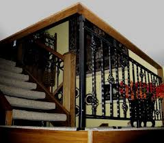 metal landing banister and railing wisconsin iron works llc