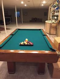 brunswick 7ft pool table brunswick billiards pool table installed new cloth complete