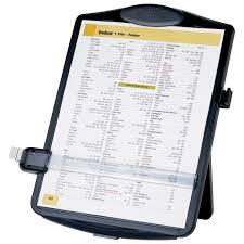 sparco letter u0026 legal sized document holder with clip spr38950
