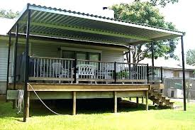 metal porch canopy front door awning ideas pictures plans glass