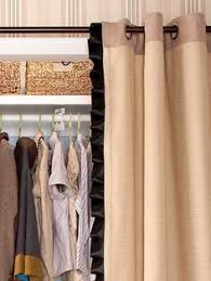 Replace Sliding Closet Doors With Curtains Fascinating Closet Door Ideas Suggestions For Modern Home Design