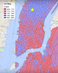 Citi Bike New York Map Day52 Data Storytelling