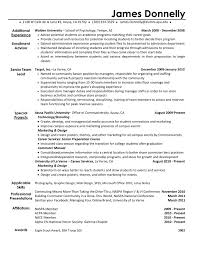 activities resume template for college resume examples college