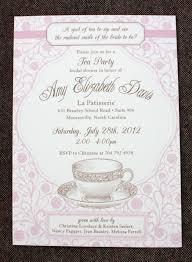bridal shower luncheon invitation wording bridal shower tea party invitation wording