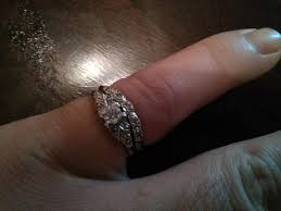 ben moss engagement sets engagement ring and wedding band size 7 city