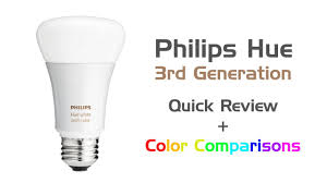 review philips hue white u0026 color led bulb 3rd generation 2016