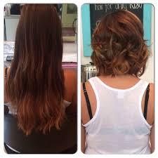 before and after picuters of long to short hair before and after done by kim kim bailey0211 from long to short