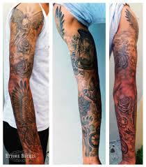 www ettore bechis com best miami tattoo shop full sleeve tattoo