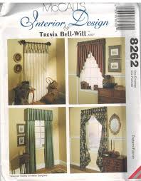 sewing patterns for home decor 8262 uncut mccalls sewing pattern home decor window treatments