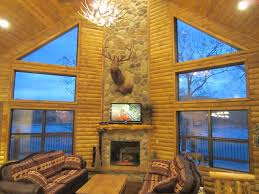table rock lake vacation rentals luxury lakefront log chalet 50ft to lake boat vrbo vrbo