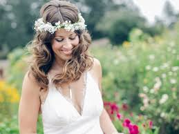 hair flower flower crown wedding hairstyles for brides and flower