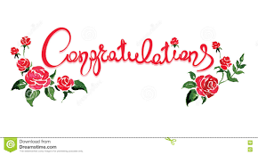 congratulations flowers congratulations with flowers stock vector illustration of vector