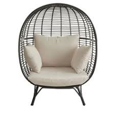 B Q Bistro Chairs B U0026q Metal Egg Swivel Chair Would Love This Sitting On My Decking