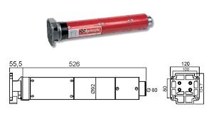 motori tende da sole 43340 001 aprimatic motore tubolare 92s 230 230nm per tapparelle e