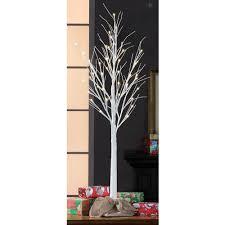 stick trees lights decoration